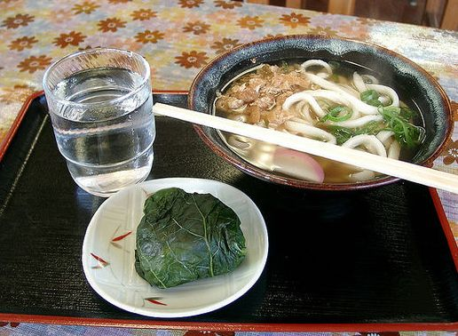 ซูชิห่อใบทาคานะ, เมฮาริซูชิ (Meharizushi)