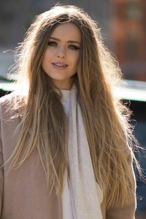 Super dulce peinados pelos largos Galería de cortes de pelo Ideas - La moda en tu cabello: Juveniles peinados con pelo largo ...