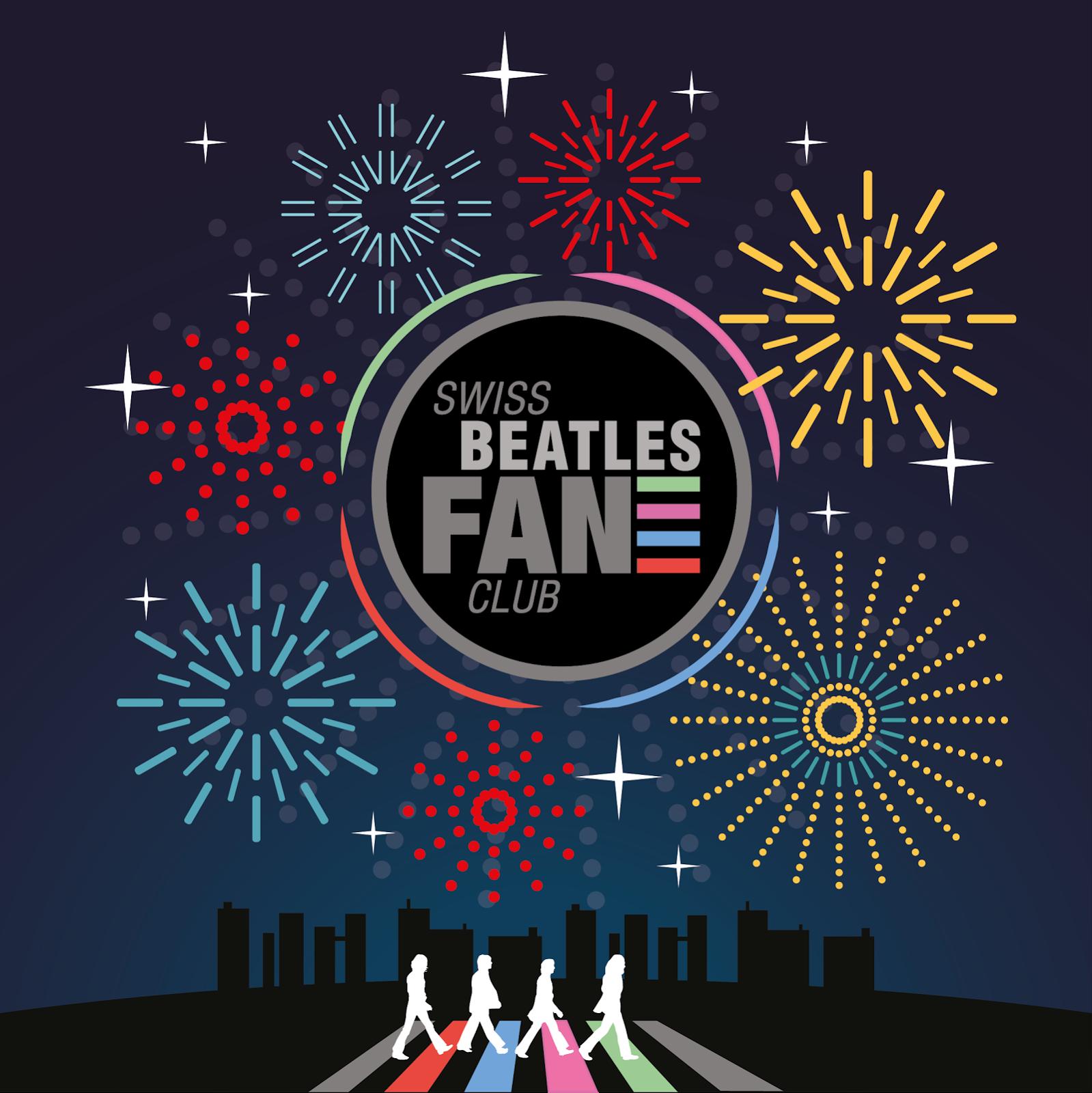 Swiss Beatles Fan Club vous souhaite une bonne année 2018