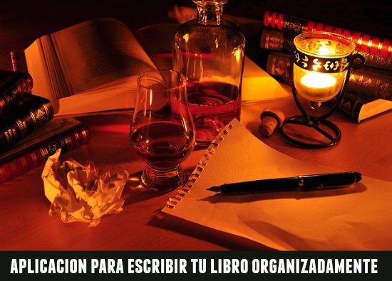 aplicaciones para escribir libros, programas para escritores