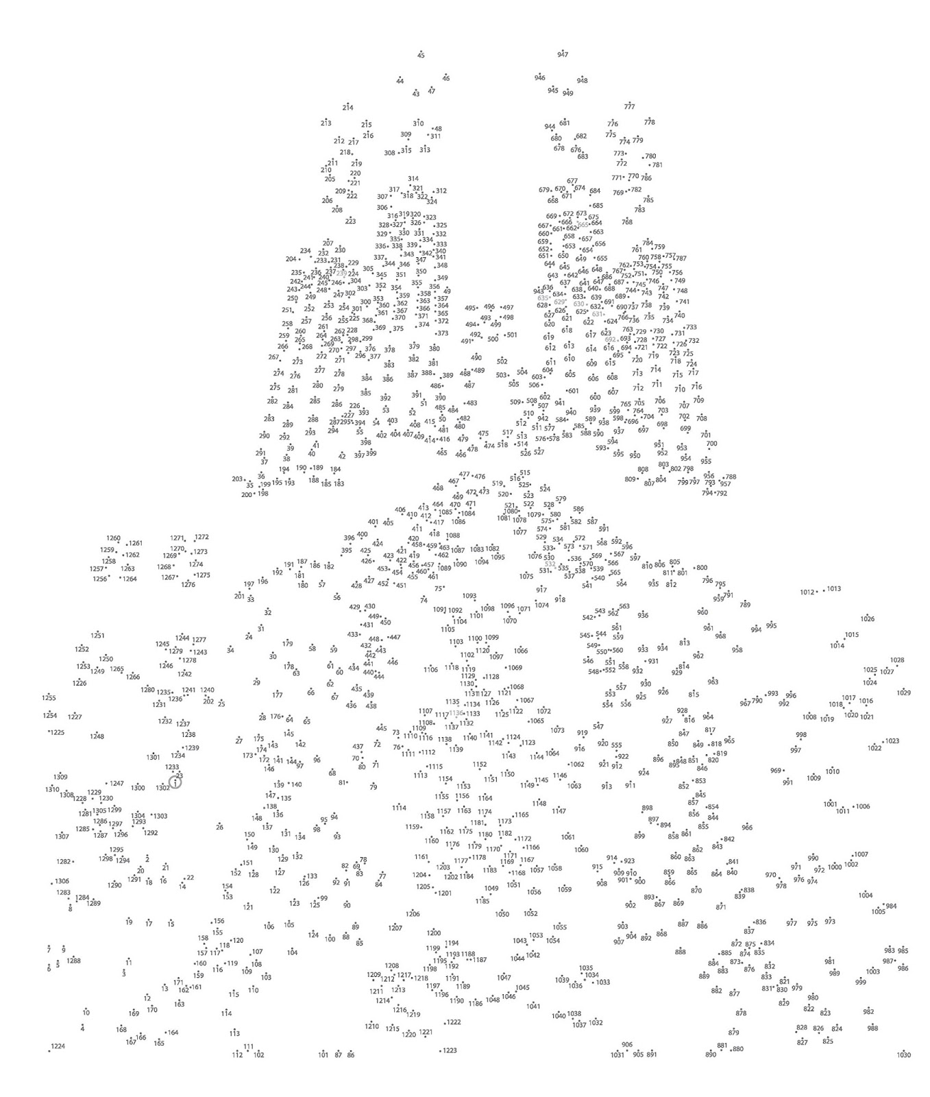 Divine image throughout free extreme dot to dot printable