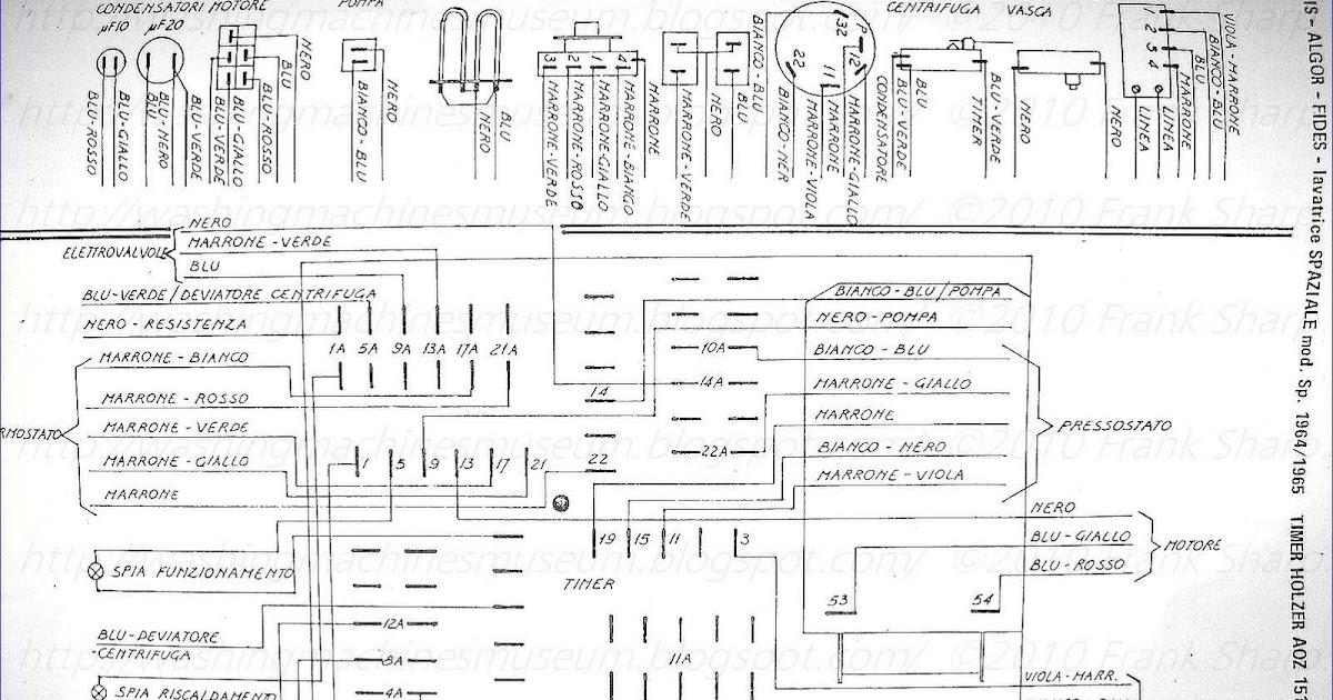 Washer Rama Museum.: IGNIS MOD. SPAZIALE TIMER AOZ151