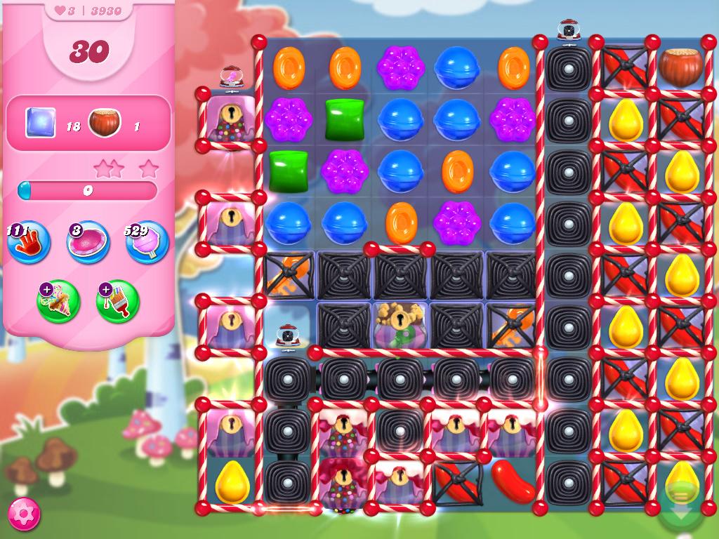 Candy Crush Saga level 3930