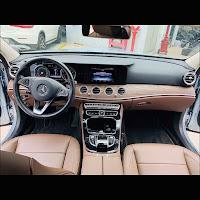 Mercedes E200 2019 đã qua sử dụng nội thất Nâu