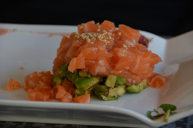 Como Yan Sushi salmon