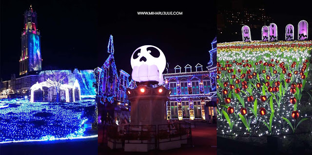 huis ten bosch illumination 2018