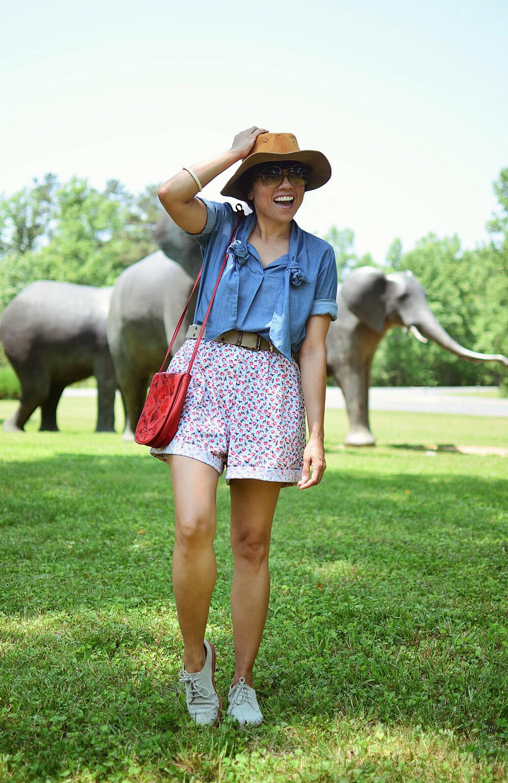 Safari outfit idea