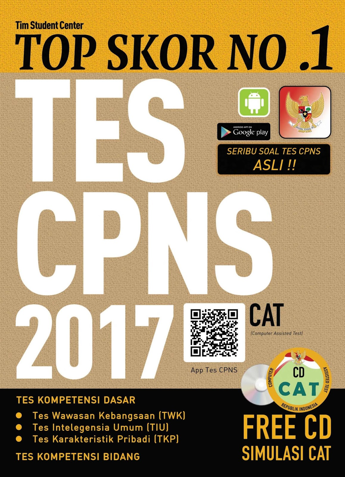 Download Top Skor No. 1 Tes CPNS 2017