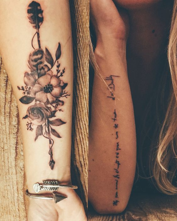 Awesome Tattoos Designs Ideas For Men And Women Amazing: 22 Awesome Arrow Tattoos For Women And Men