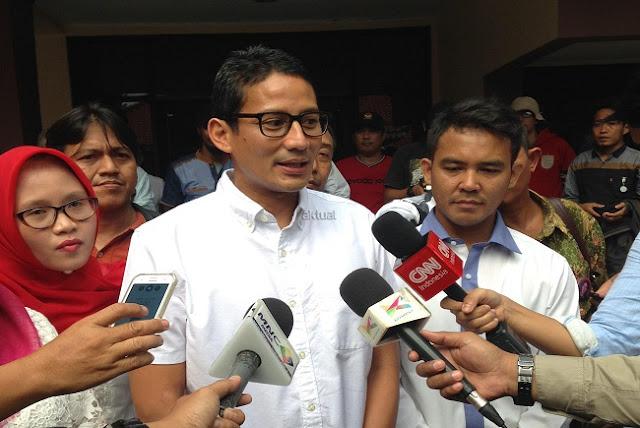 4 November, Sandiaga dan Soal Kericuhan di Luar Batang