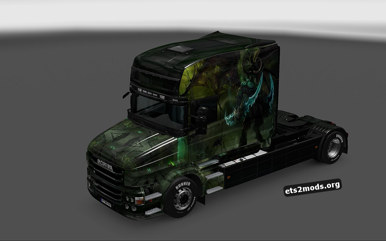 Illidan Skin for Scania T