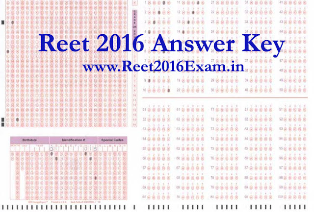 Bser Reet 2018 answer key Download