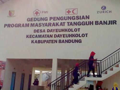 Dadang Naser Resmikan Gedung Pengungsian Program Masyarakat Tangguh Banjir di Dayeuhkolot