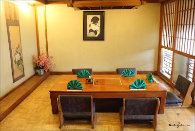 Tatami room Okoh Japanese Restaurant
