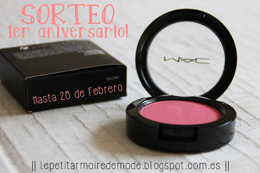 MAC blush Aliexpress + SORTEO