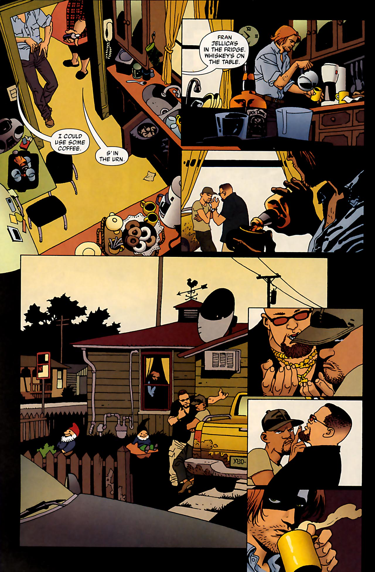Read online 100 Bullets comic -  Issue #53 - 7