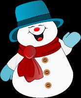 Boneco de Neve - criação Blog LacreMania