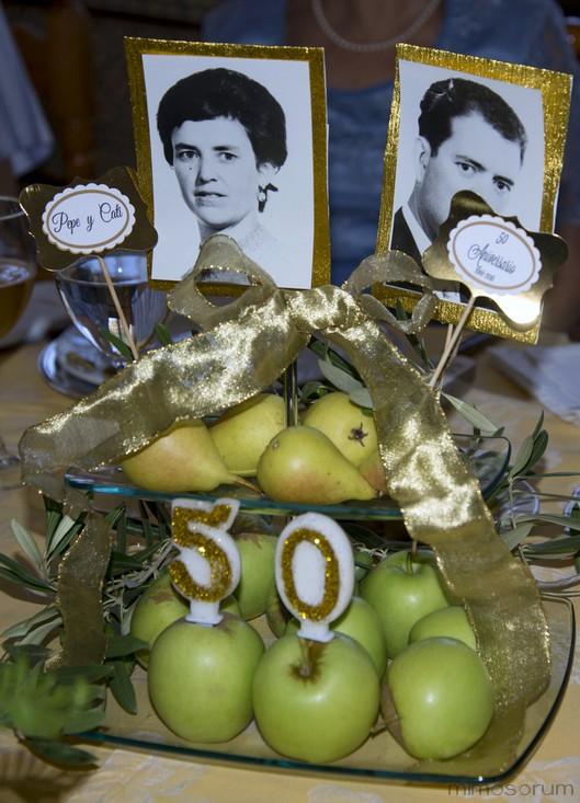 Papelería 50 Aniversario de Boda