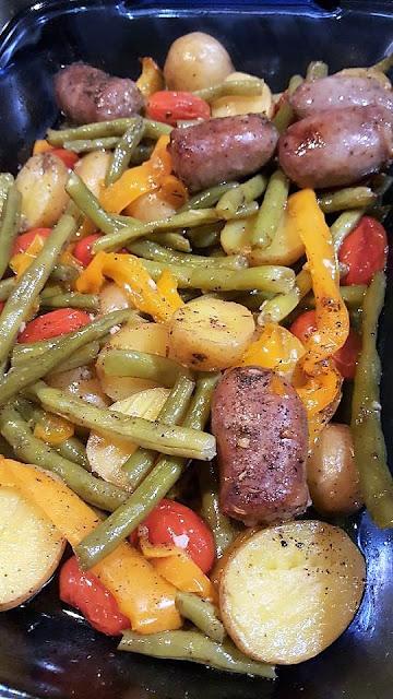 Sausage-Potato-Bake