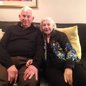 Old Couple  after 69 years of marriage passed on minutes apart holding hands