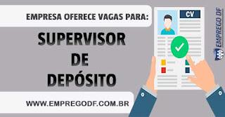 SUPERVISOR DE DEPOSITO