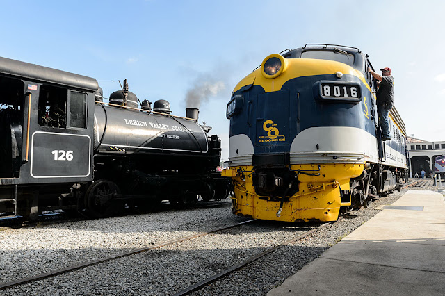 C&O F3Au 8016 at the NC Transportation Museum
