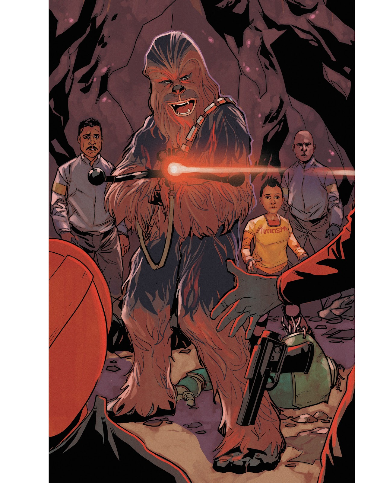 Read online The Marvel Art of Star Wars comic -  Issue # TPB (Part 2) - 53