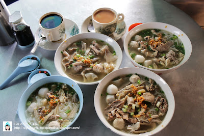 Kafe Evergreen (永茂茶室) Koay Teaw Th'ng at Hutton Lane, Penang.
