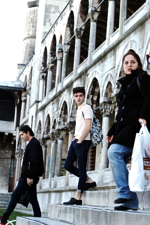 blog mode homme velihat istanbul mort uysal matthias cornilleau istanbulda blogger fashion bog voyage mosquée bleue