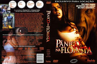 Pânico na Floresta DVD Capa