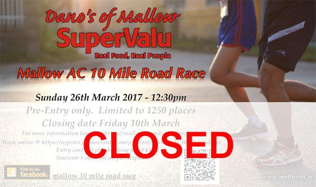 Thursday 26th March - Cork Racecourse Mallow