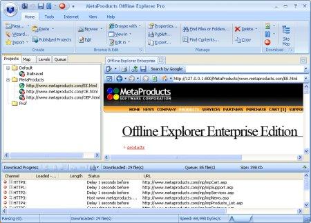 Download Offline Explorer 7.2.4514 Enterprise Portable