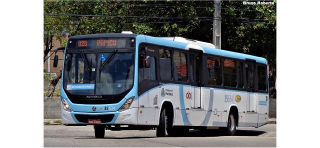Mais de 150 ônibus padrons e articulados operam no BRT Fortaleza