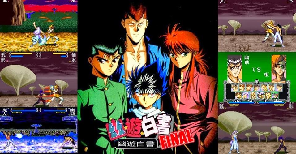 Yu Yu Hakusho Final: videogame e anime na medida certa no SNES - Nintendo  Blast