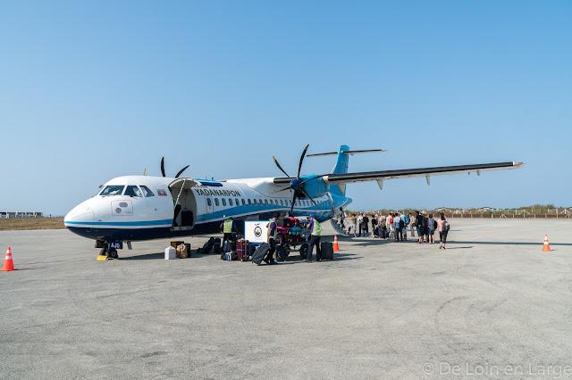 Aéroport de Thandwe-Ngapali-Myanmar-Birmanie