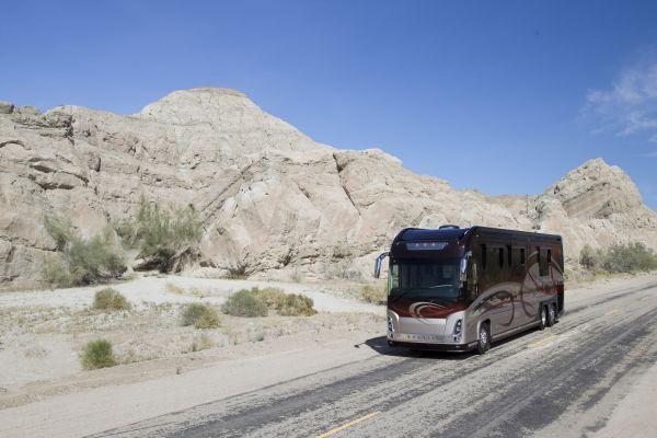 newell motorhome bus