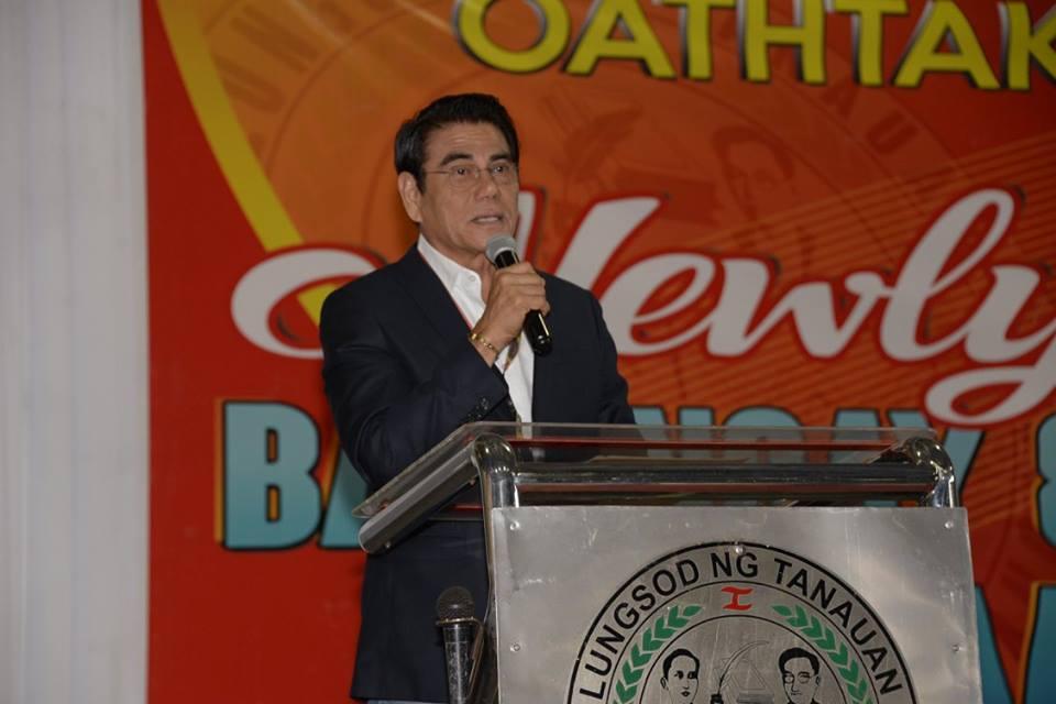 Palace condemns killing of Tanauan City Mayor Antonio Halili