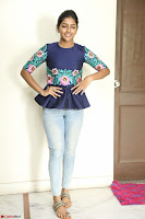 Eesha Looks super cute stunning in Denim Jeans and Top at Darsakudu movie Inerview ~  Exclusive 010.JPG