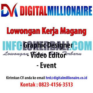Lowongan Kerja Magang Di Perusahaan Digital Millionaire