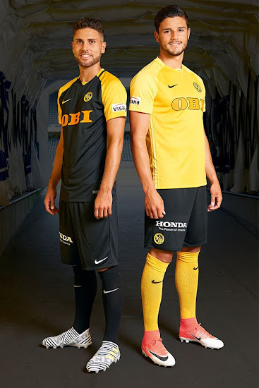 Nike Young Boys 17-18 Home & Away Kits Released - Footy Headlines