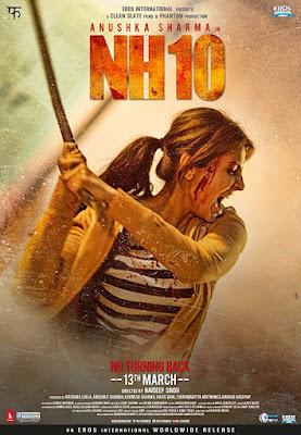 NH10 (2015) Hindi Movie 720p DVDRip 900MB