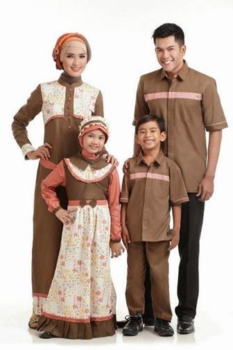 Contoh Baju Batik Couple Keluarga Yang Kekinian