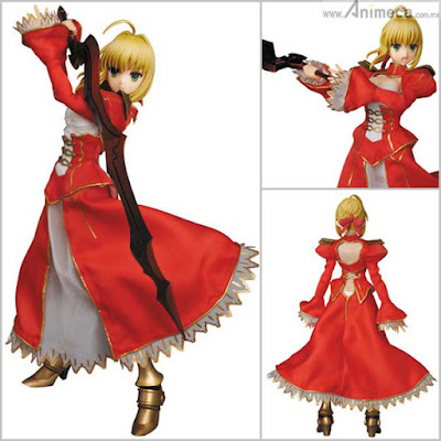 FIGURA SABER EXTRA REAL ACTION HEROES (RAH) No.713 Fate/EXTRA