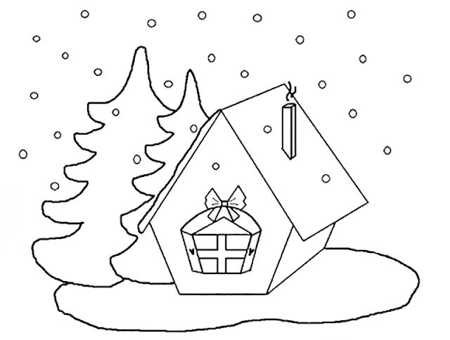 Mewarnai Gambar Rumah - 7