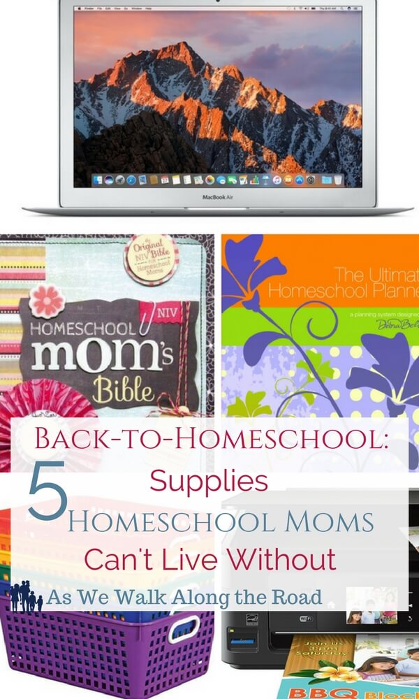 Back to Homeschool Supplies Homeschool Moms Can't Miss