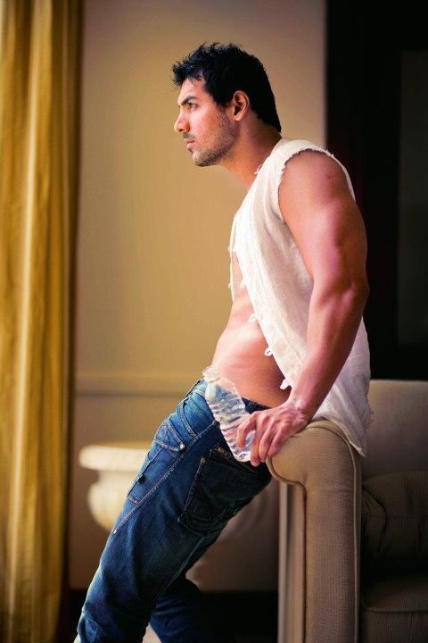 John abraham without underwear
