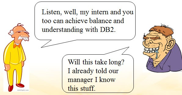 The Tao of DB2 - Part 1: Achieving Balance and Understanding with DB2