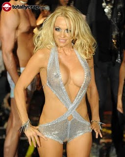 Pamela Anderson hot nipple shows in Music video release!!!