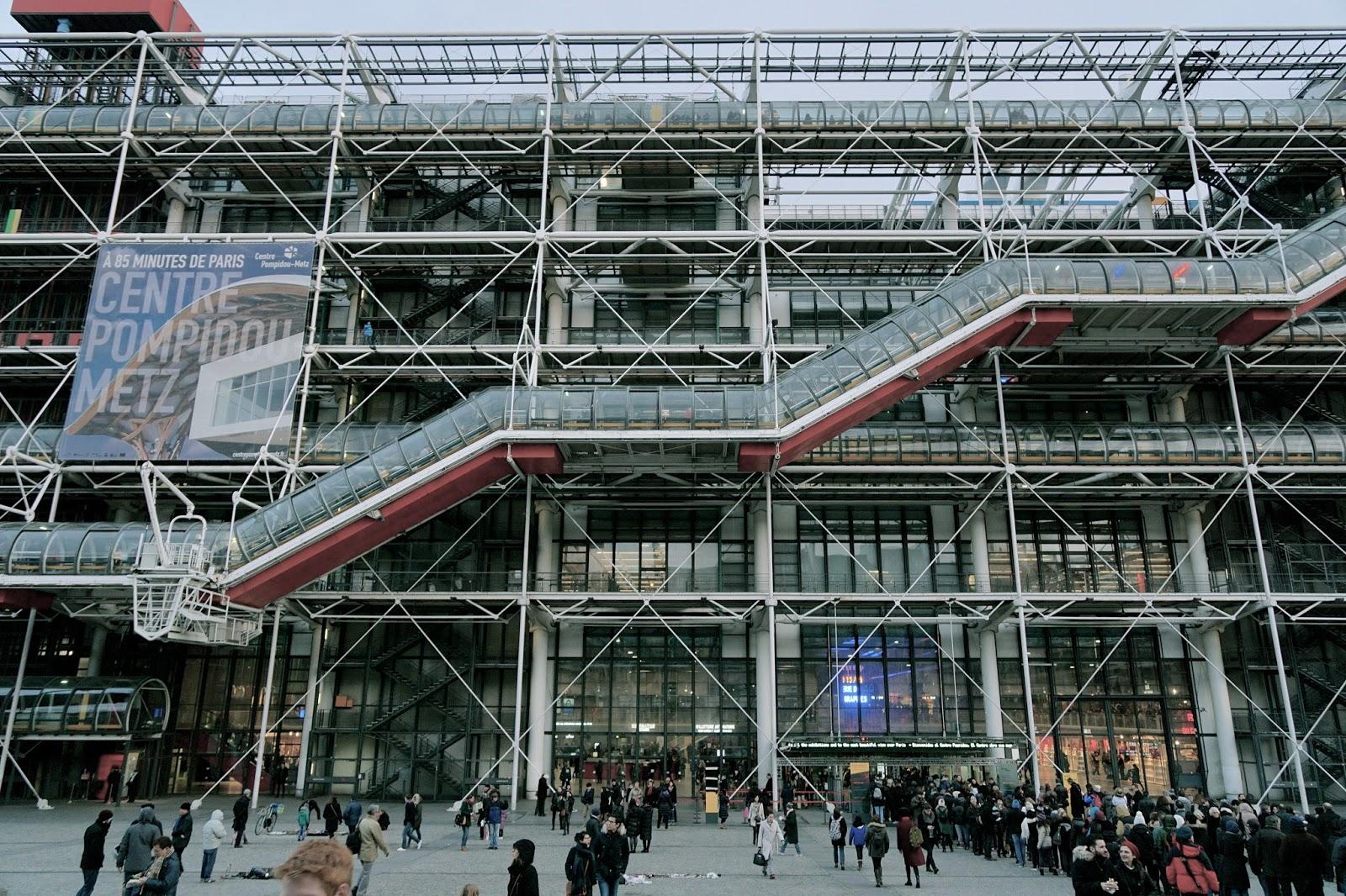 ポンピドゥー・センター(Centre Georges-Pompidou)