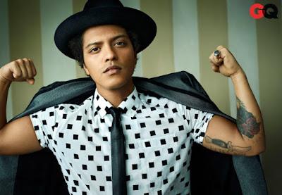 Lyric : Bruno Mars - 24K Magic